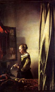 Johannes Vermeer : Girl Reading a Letter at an Open Window